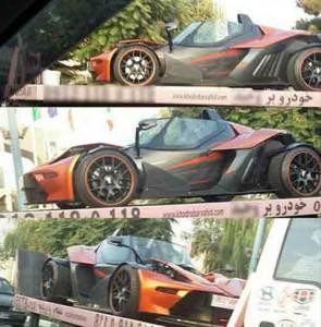 دو خودروی خیلی گران و عجیب در تهران