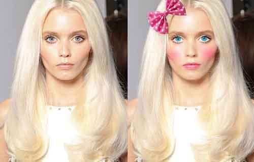 آموزش آرایش صورت با فتوشاپ