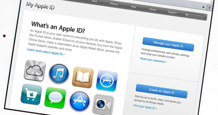 ساخت اکانت اپل