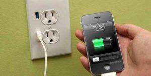 شارژ کردن گوشی