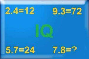 تست هوش ریاضی با جواب