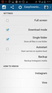 ذخیره عکس در اینستاگرام