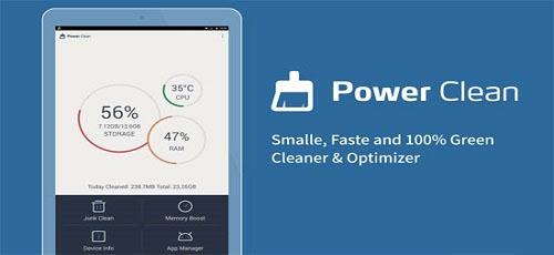 بهترین نرم افزار بهینه ساز اندروید یا نرم افزار Power Cleaner