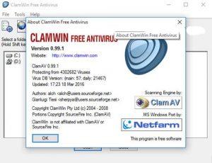 آنتی ویروس clamwin ، آنتی ویروس رایگان