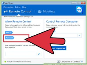 آموزش اتصال آیفون به کامپیوتر با نرم افزار teamviewer