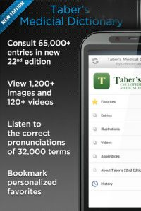 برنامه دیکشنری پزشکی اندروید برنامه دیکشنری تابر