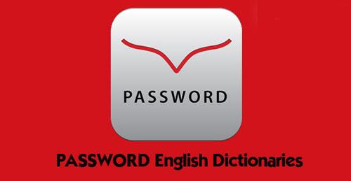 دیکشنری انگلیسی اندروید PASSWORD English Dictionaries