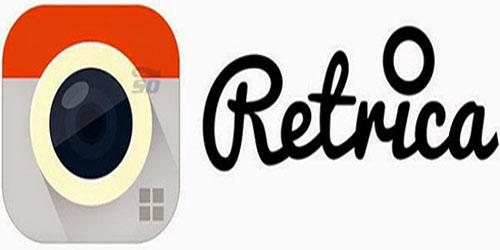 معرفی نرم افزار رتریکا برای اندروید نرم افزار retrica pro