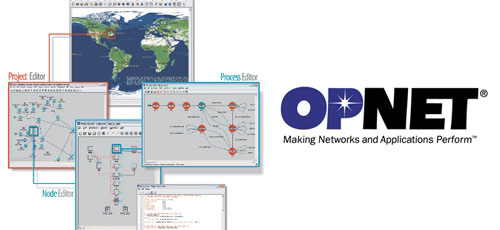 برنامه شبیه ساز شبکه opnet یا نرم افزار opnet