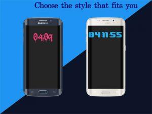 ویژگیهای برنامه Always On Ambient Clock یا برنامه ساعت اندروید