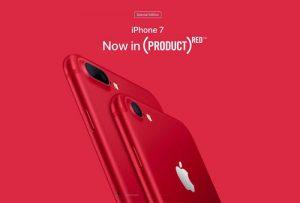 مشخصات آیفون قرمز و ایفون قرمز 7