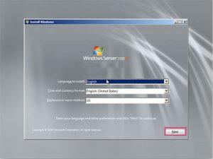 آموزش نصب ویندوز سرور